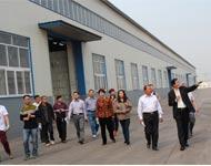 工业园区企业领导层参观辰泰